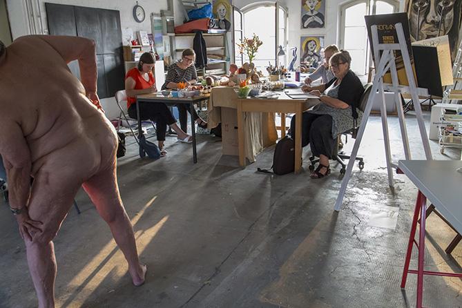Sandra Dirks berichtet von der 2. Ladies Drawing Night in Braunschweig