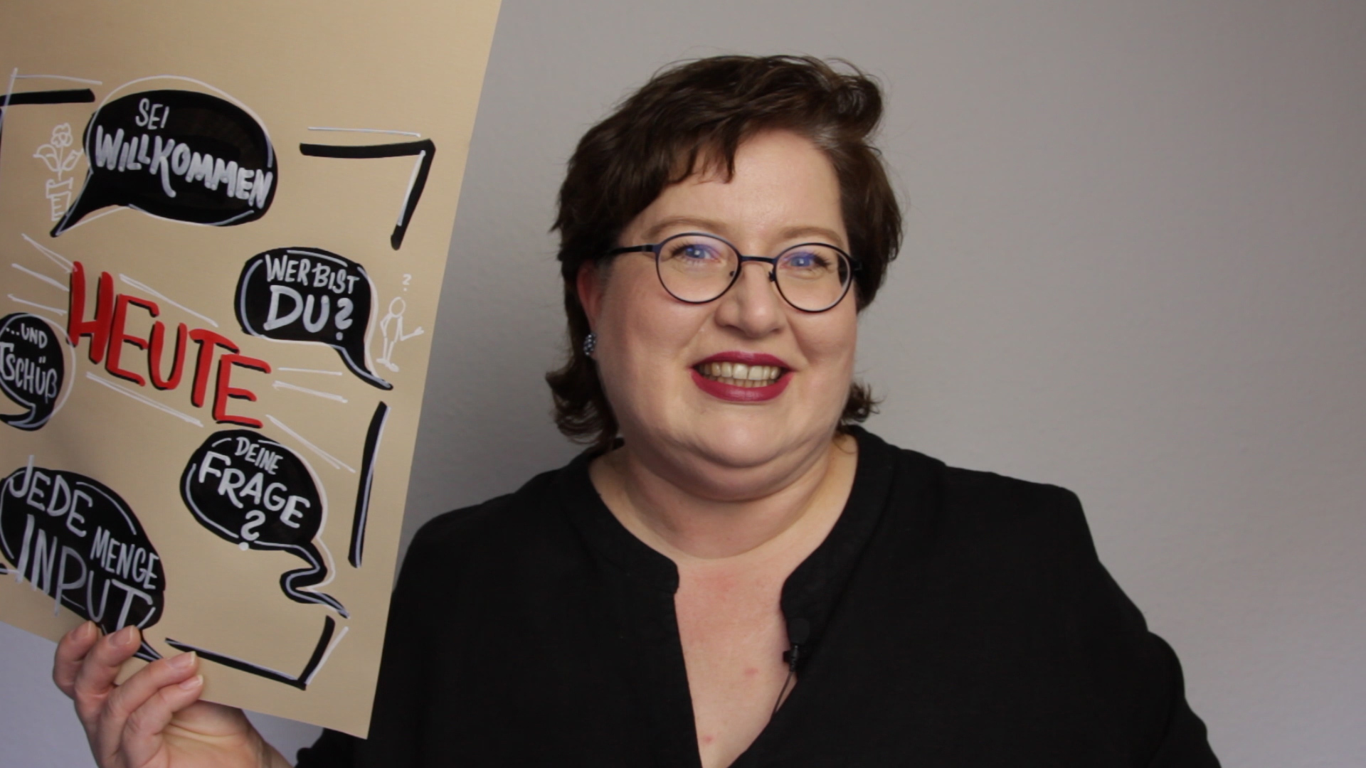 Sandra Dirks - Vom Kuchenpapier aufs Flipchart