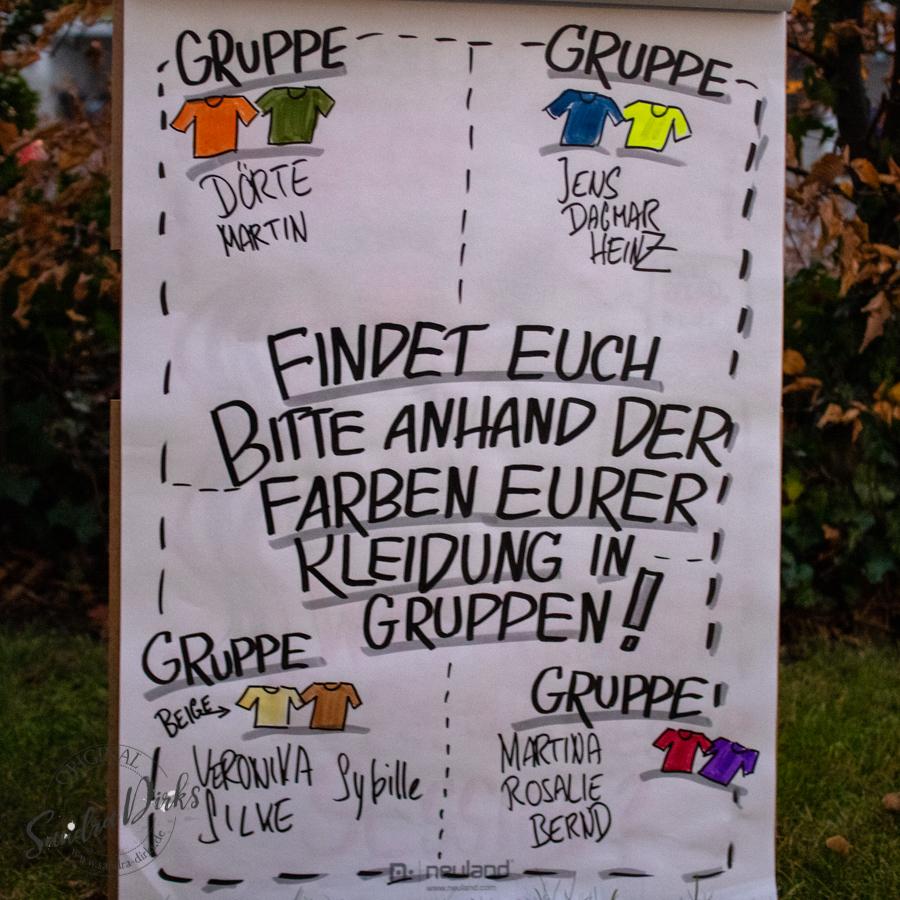 Sandra Dirks - Flipcharts in Herbst-Winter-Farben 2018