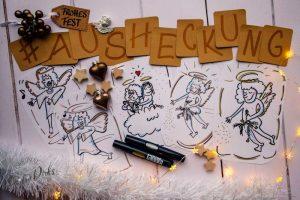 Sandra Dirks - Wintersession Engel zeichnen mit Heike Haas