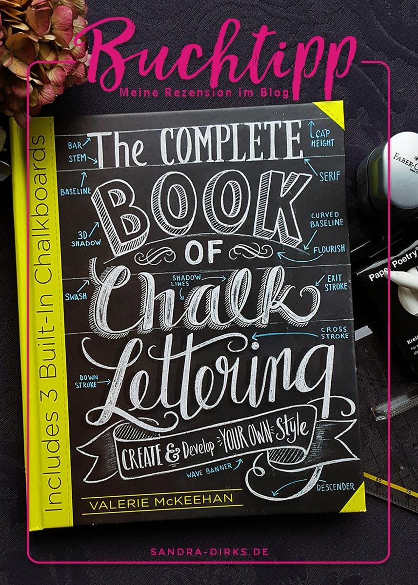 Sandra Dirks - Rezension The Complete Book of Chalk Lettering