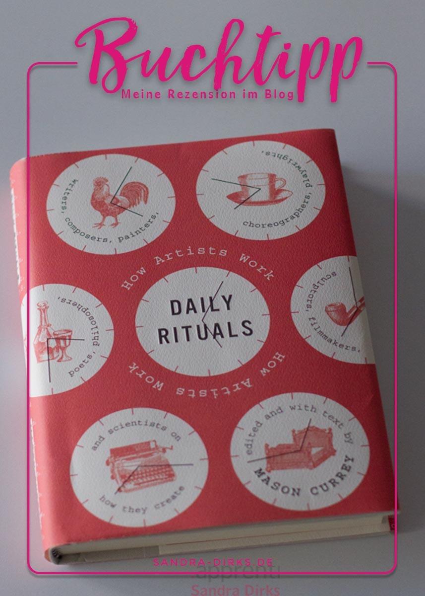 Sandra Dirks - Rezension Daily Rituals