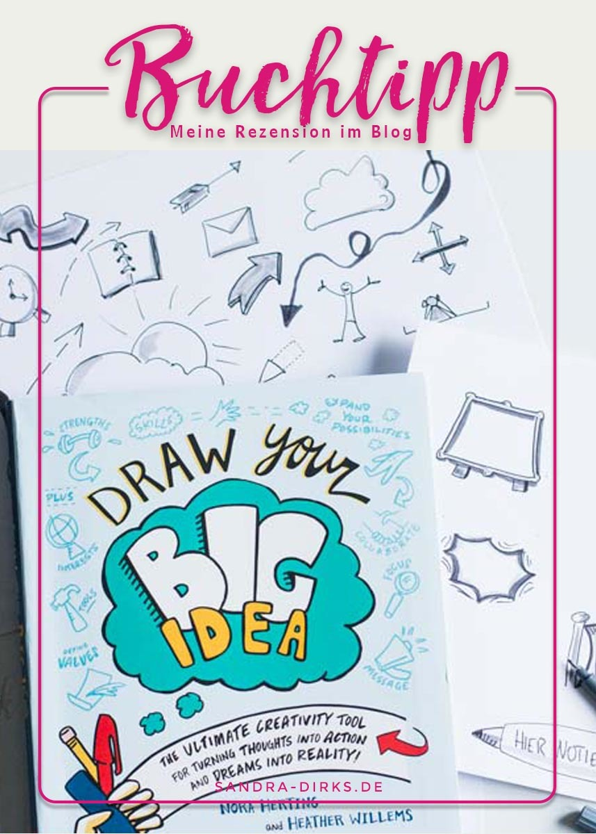 Sandra Dirks - Rezension Draw your Big Idea