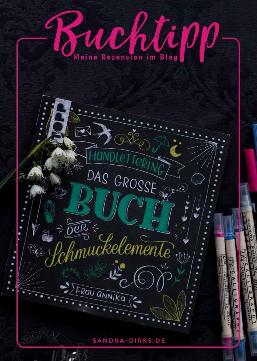 Sandra Dirks - Rezension Das große Buch der Schmuckelemente von Frau Annika