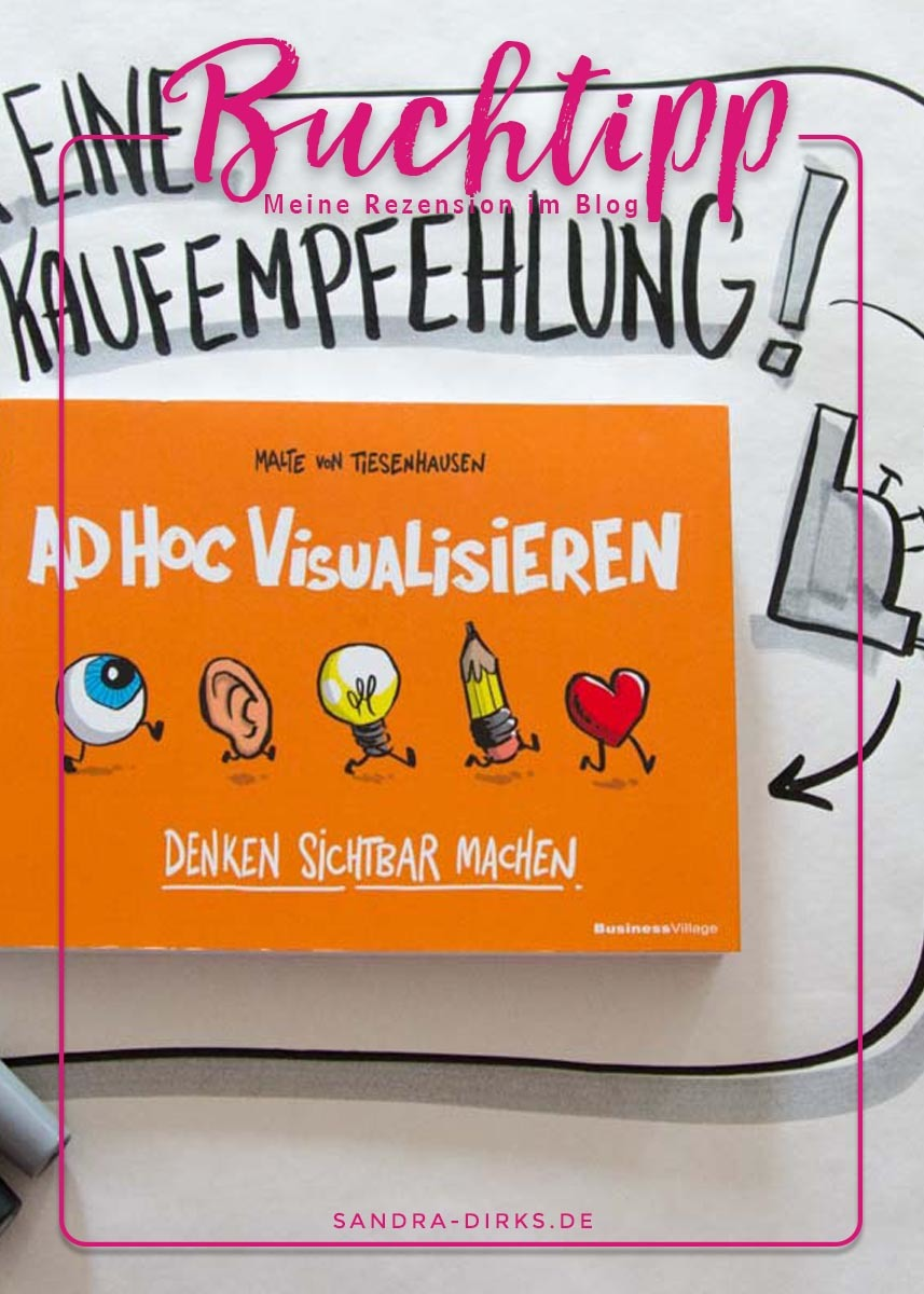 Sandra Dirks - Rezension Ad-Hoc-Visualisieren