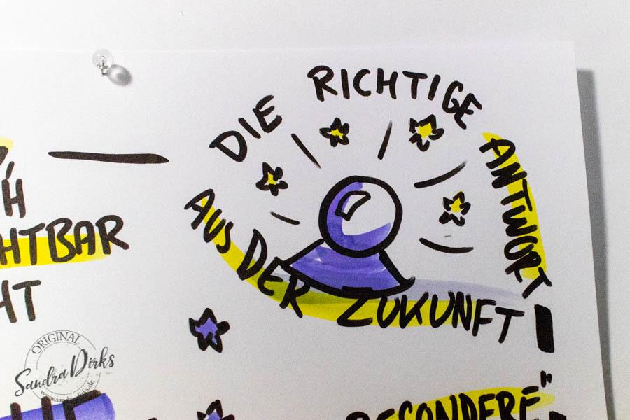 Sandra Dirks - Mini - Flipchartkurs - So zeichnest du magische Werkzeuge auf dein Flipchart
