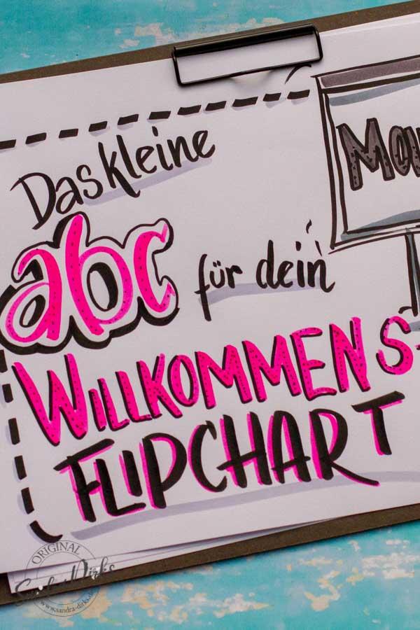 Sandra Dirks - Tipps und Tricks für Begrüssungs- oder Willkommens-Flipcharts
