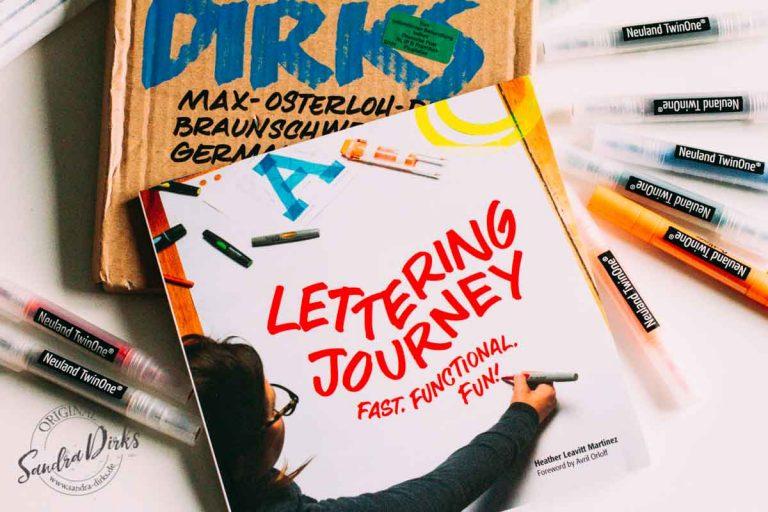 Sandra Dirks - Rezension Lettering Journey von Heather Leavitt Martinez
