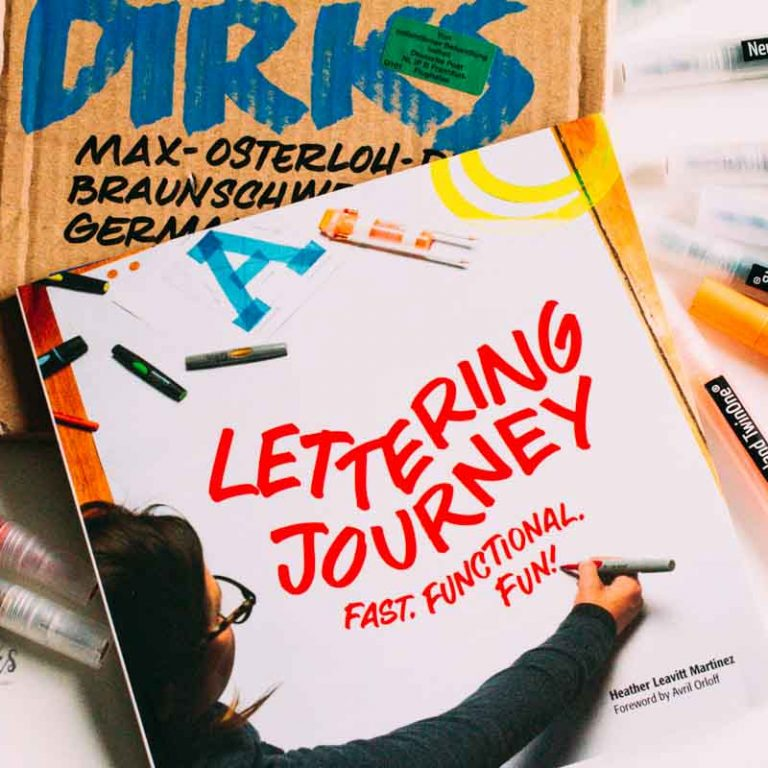 Sandra Dirks - Rezension Lettering Journey von Heather Leavitt Martinez