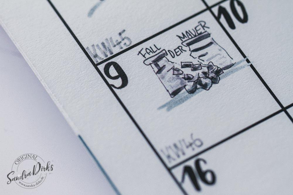 Sandra Dirks - Sketchnote-Kalender 2020