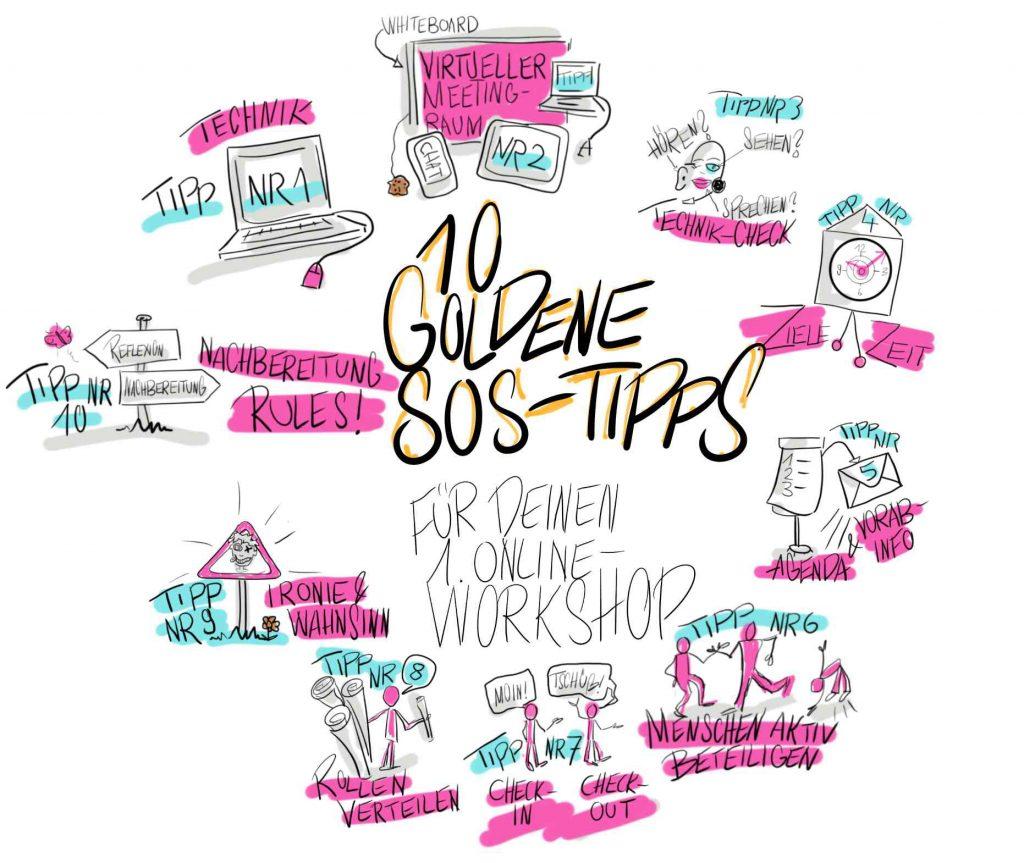 Sandra Dirks - 10 goldene SOS-Tipps