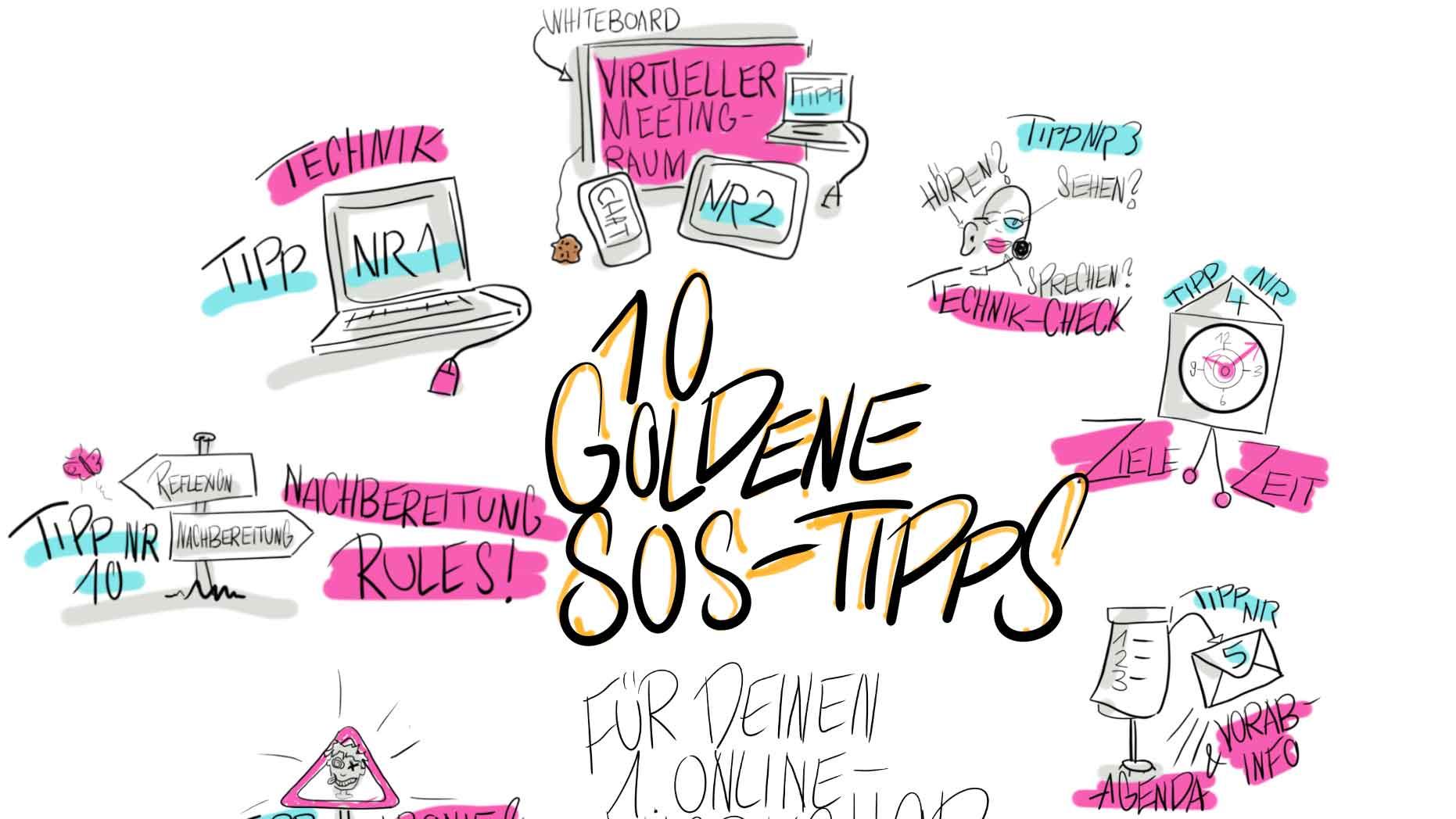 Sandra Dirks - 10 goldene SOS-Tipps Titelbild