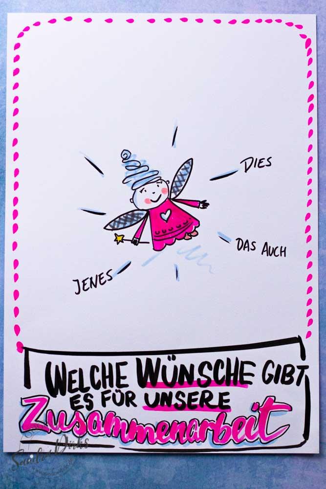 Sandra Dirks - Zeichne eine Fee auf dein Flipchart