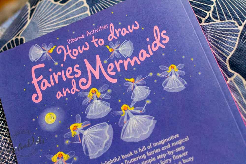 Sandra Dirks - Buch zum Zeichnen von Meerjungfrauen Rückseite