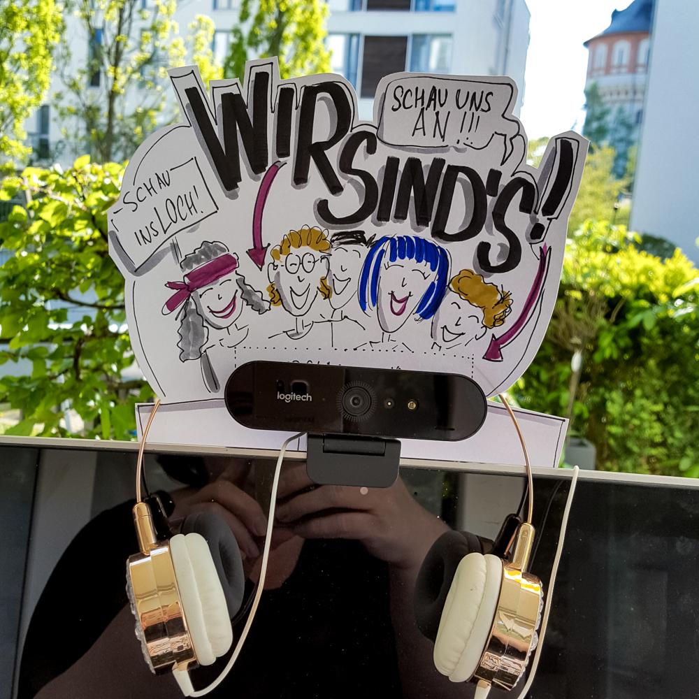Sandra Dirks - Webcam-Anschauhilfe Visualisierungsidee für die Webcam