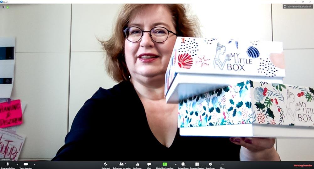Sandra Dirks - HowTo-Webcam im Zoomfenster mit Beautyboxen