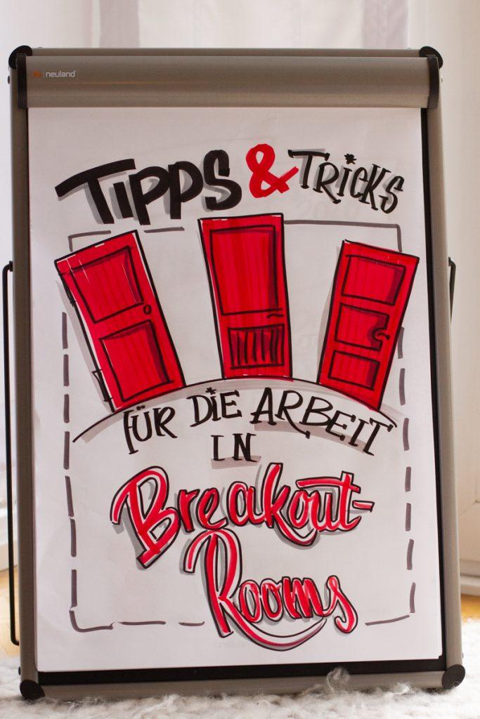 Sandra Dirks - Tipps für die Arbeit mit Breakout Rooms