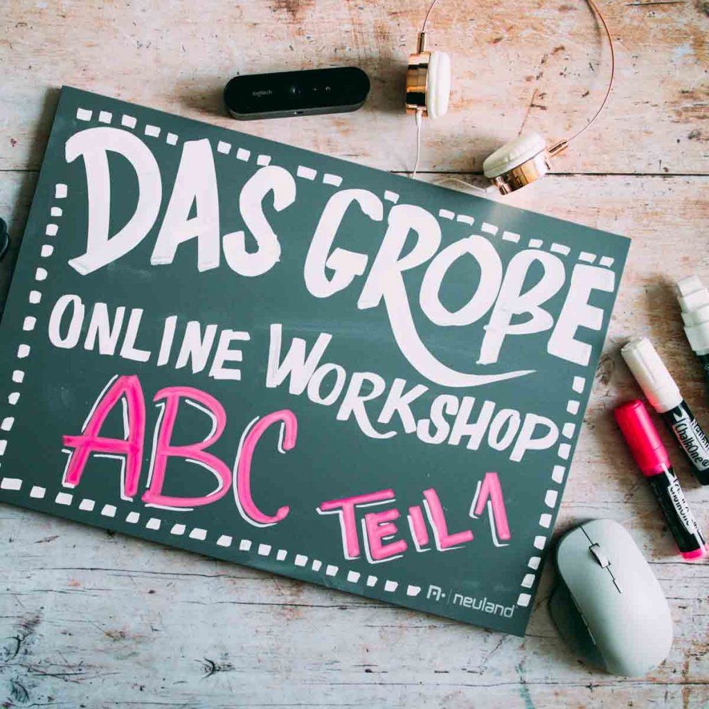 Sandra Dirks - Das große Online-Workshop ABC Teil 1