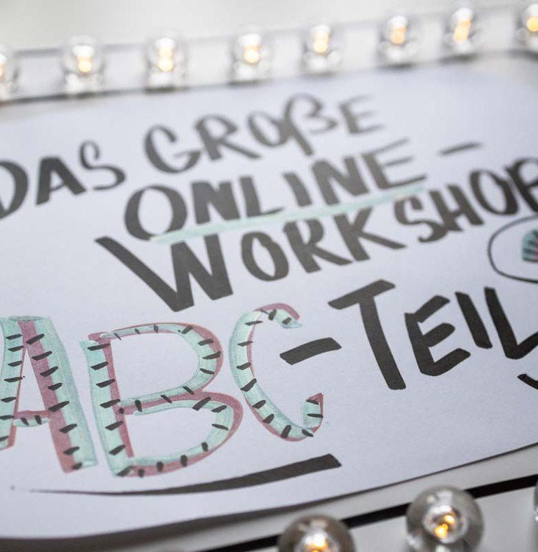 Sandra Dirks - Das große Online-Workshop ABC Teil 2 - Foamboard