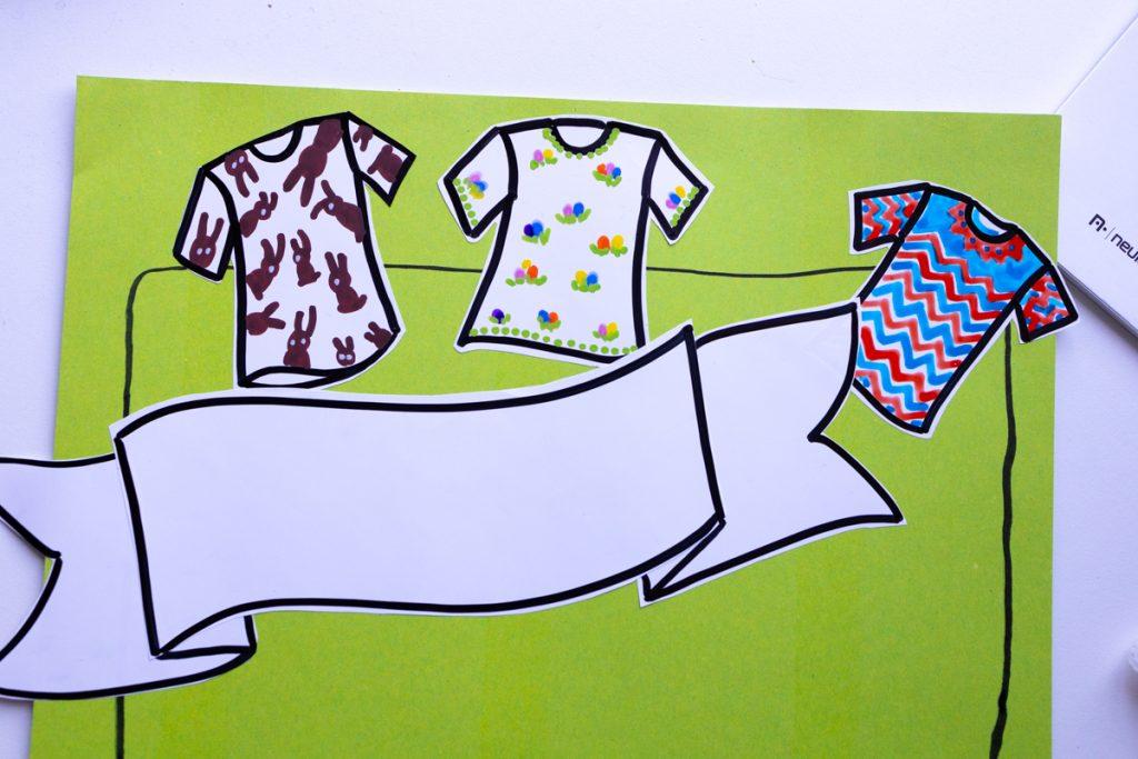 Sandra Dirks - estatics in T-Shirt-Form als visuelle Teilnehmerliste nutzen als Instacard