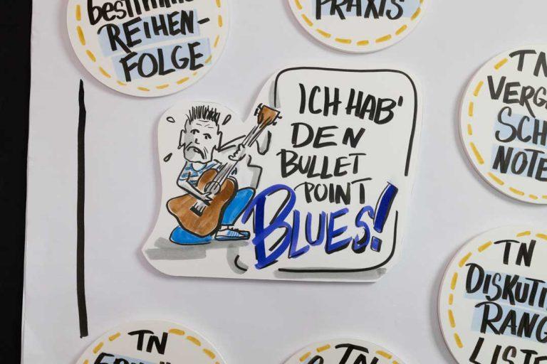 Sandra Dirks - Bullet Point Blues - Methodenideen Flipchart