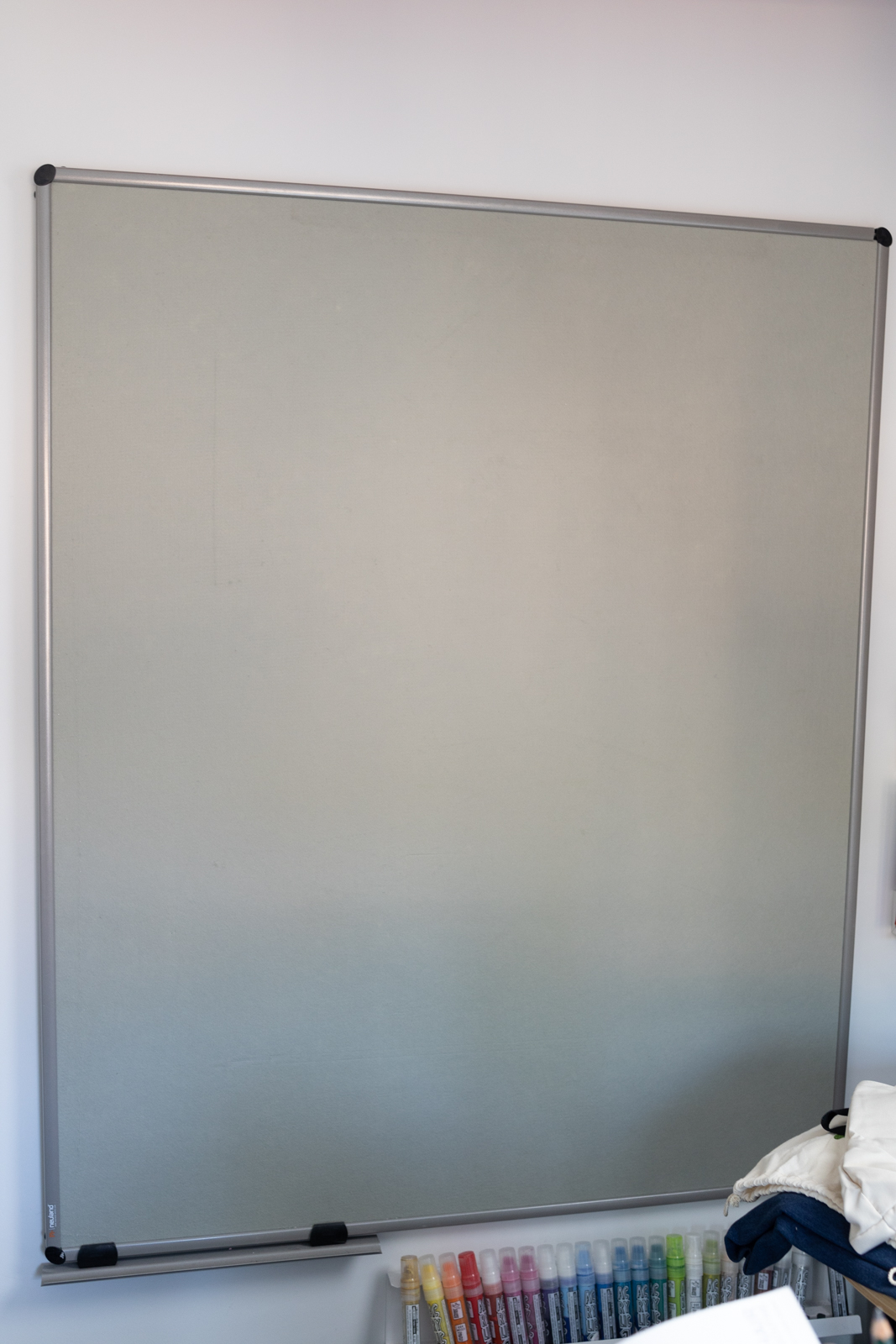 Wandpinwand EuroPin® W von Neuland mit Clip-on Stiftablage